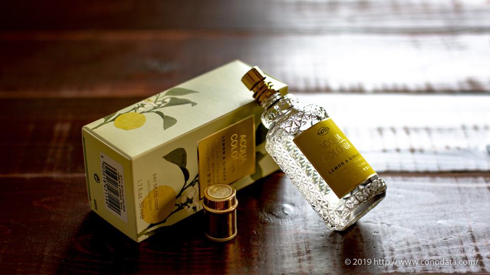 甘く柔らかいフローラル「4711 アクアコロニア レモン&ジンジャー」