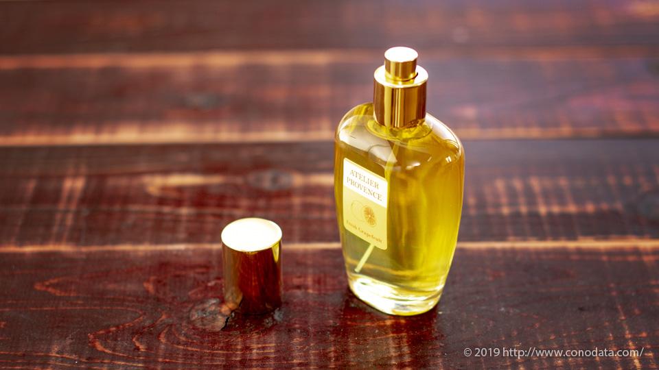 酸味の効いた柔らかくアロマティックな香り「アトリエ プロヴァンス フレッシュグレープフルーツ」