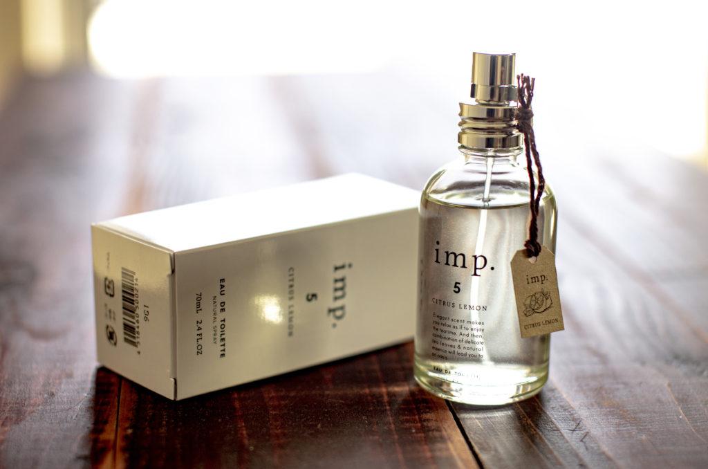 安らぎを演出する穏やかな香り「インプ(imp.)  シトラスレモン」