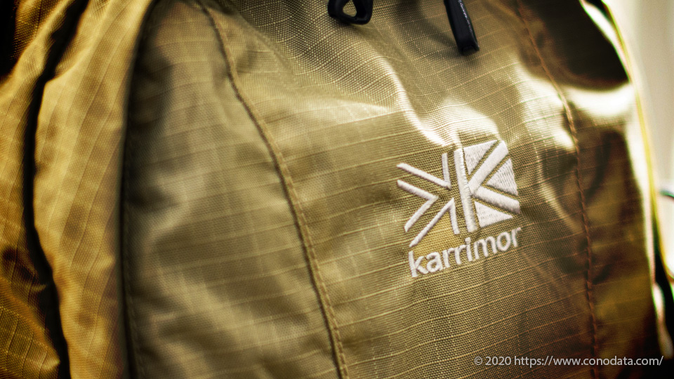 「karrimor(カリマー)」sector(セクター)25のブランドロゴ